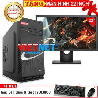 Máy tính chơi game intel G2020 2030 RAM 4GB HDD 250GB tặng màn hình LCD 22inch (VietNet) thumbnail