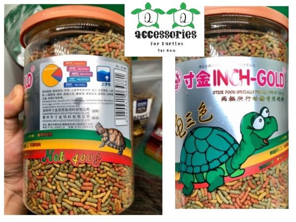 Thức ăn bổ sung VITAMIN VÀ KHOÁNG CHẤT có trong rau cho rùa nước baby 400 gram