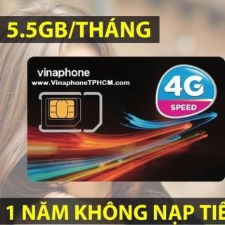 SIM 4G VINA TRỌN GÓI 1 NĂM DÙNG MIỄN PHÍ 66 GB, 5.6GB THÁNG thumbnail
