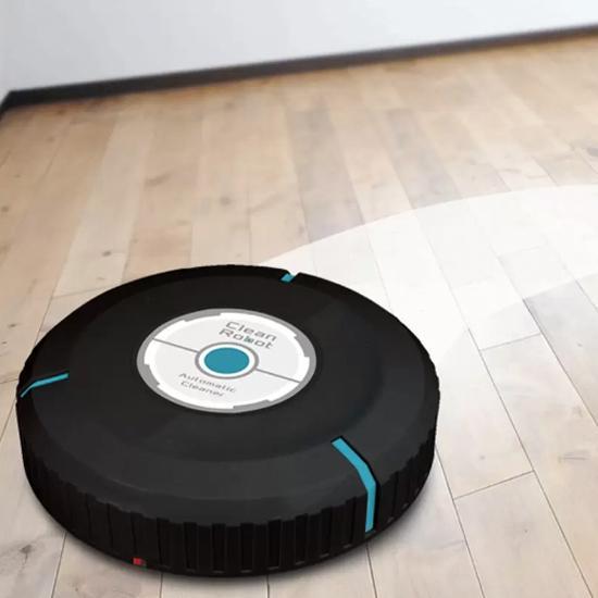 Máy lau nhà tự động Clean Robot, đồ lau nhà thông minh tiện ích