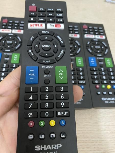 Bảng giá Remote/điều khiển SMART TV SHARP 1346