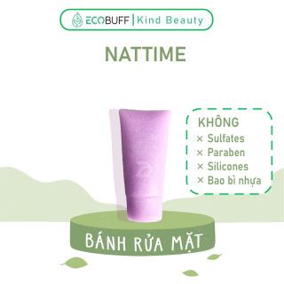 Sữa rửa mặt thiên nhiên lành tính men vi sinh dạng bánh Nattime không hóa chất sạch sâu dịu nhẹ - Handmade Ecobuff thumbnail