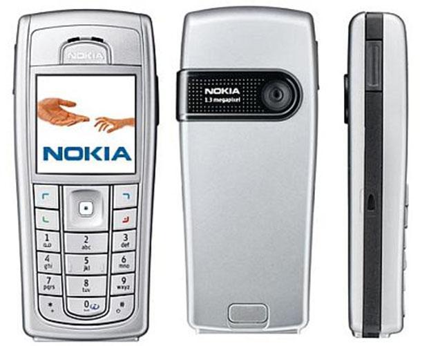 Điện thoại độc cổ nokia 6230 giá rẻ tặng pin sạc bảo hành 12 tháng