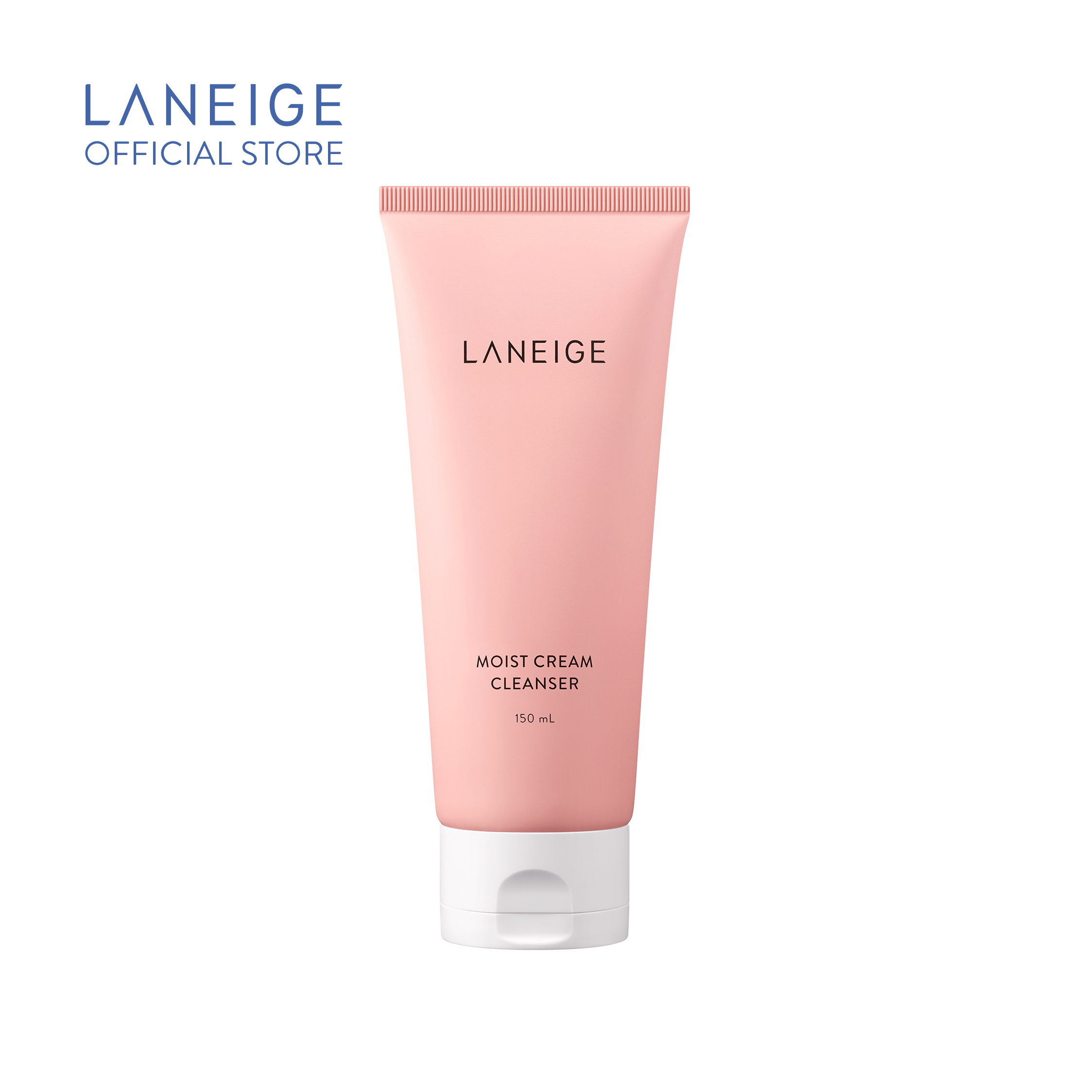 Sữa rửa mặt giúp dưỡng ẩm cho da thường và da khô Laneige Moist Cream Cleanser 150Ml