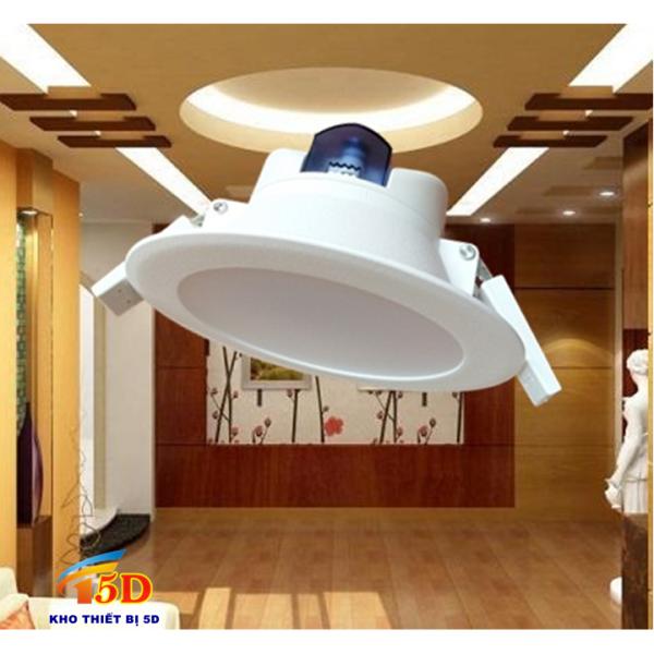 Đèn LED Downlight âm trần 8W D115/ 90mm - Chính hãng