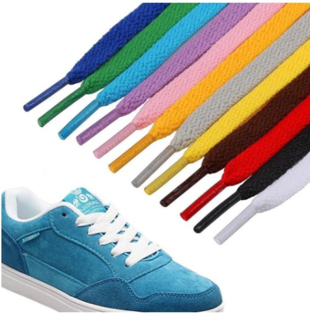 Dây Giày Thể Thao Sneaker Loại Trơn 1m2 (1 Cặp) giá rẻ