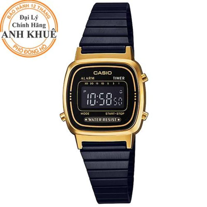 Đồng hồ nữ Casio Anh Khuê LA670WEGB-1BDF