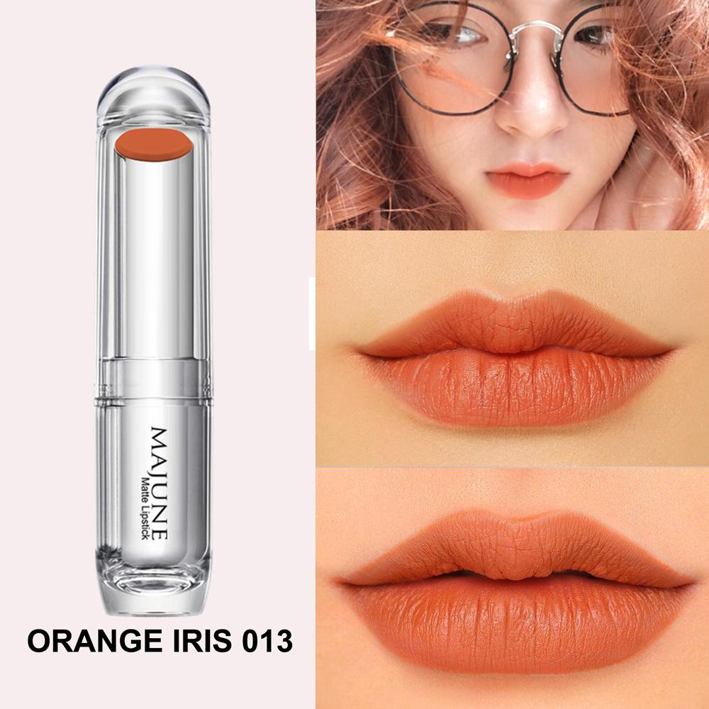 Son lì không chì Majune Orange Iris #013 nhập khẩu