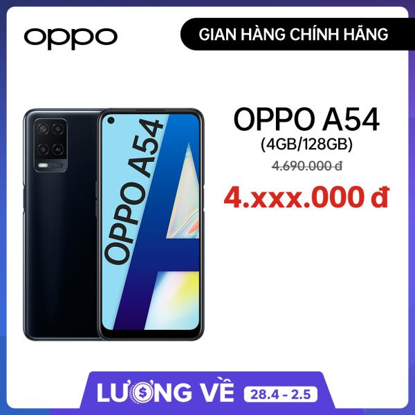 Điện thoại OPPO A54 - 4GB/128GB- Gian hàng OPPO chính hãng