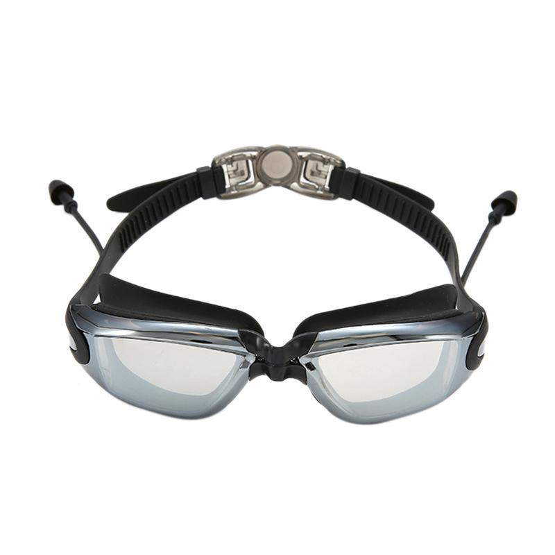 ROBESBON Waterproof Professional Swimming Goggles Anti-Fog Uv Men Women Water Sports Swim Eyewear Swimming Glasses With Earplug Có Giá Rất Tốt