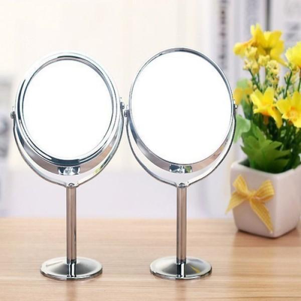 Gương trang điểm 2 mặt 1 mặt phóng to gấp 3 lần M1 giá rẻ