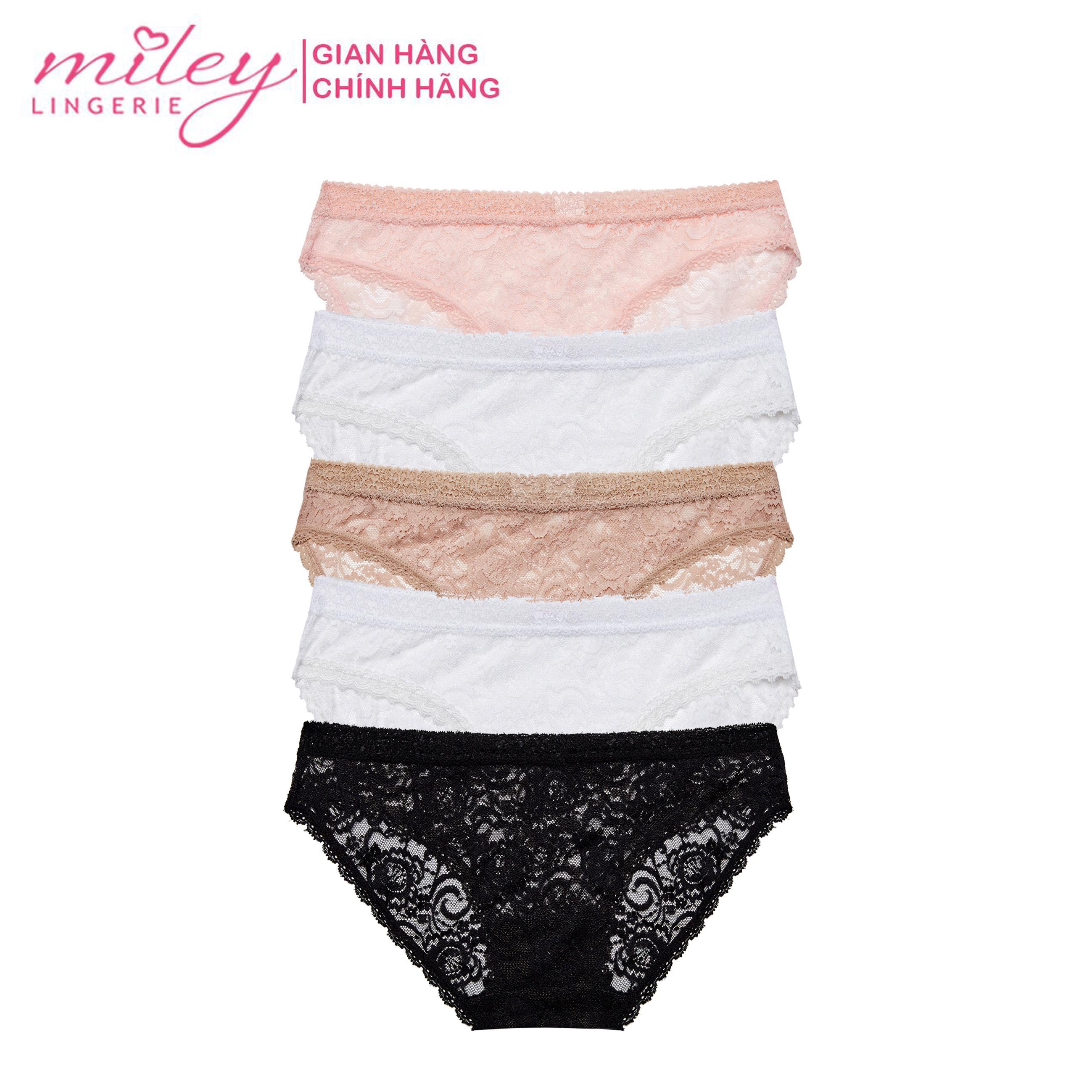 Bộ 5 Quần Lót Ren Hoa Sexy Miley Lingerie FLS_03 Đang Ưu Đãi Giá