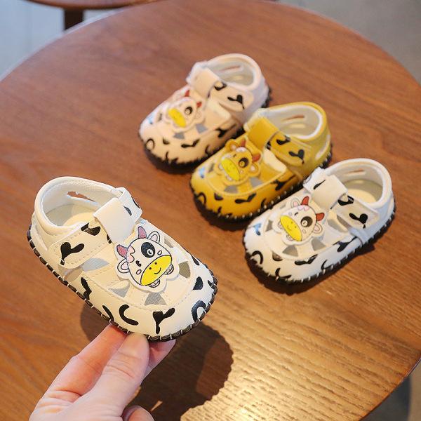 Giày thể thao dạng lười thoáng chân cho bé trai tập đi siêu mềm bé bò sữa cute