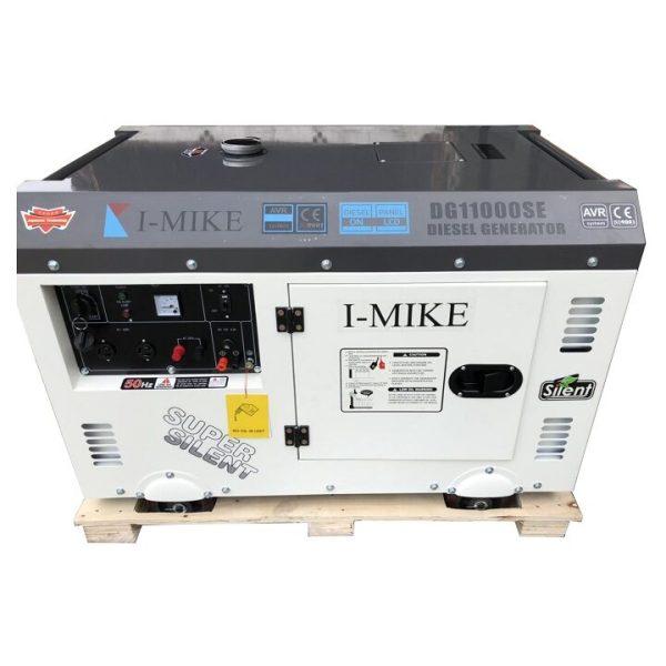 Máy Phát Điện Chạy Dầu I-MIKE 10KVA DG11000SE 3 Pha