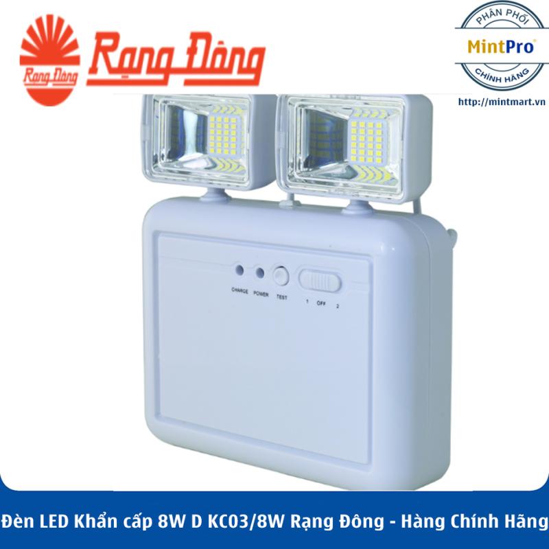 Đèn LED Khẩn cấp 8W D KC03/8W Rạng Đông - Hàng Chính Hãng