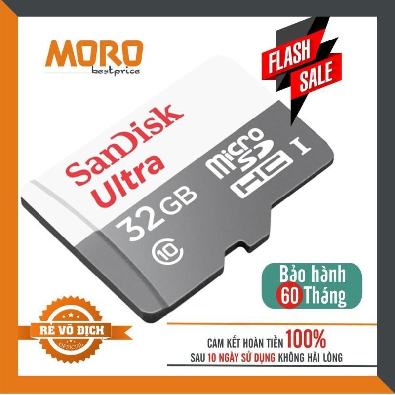 Thẻ Nhớ MicroSDHC SanDisk Ultra 32GB Upto 100MB/S 667x - Sản Phẩm chính hãng