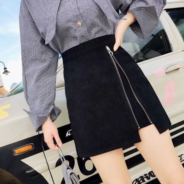 Chân váy nữ đẹp , chân váy dáng ôm ,chân váy công sở, chân váy chữ A  chất kaki viền dây kéo giá rẻ siêu xinh, Body-hugging skirt legs