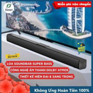 Loa bluetooth soundbar thanh ngang âm thanh vòm 8D BOSEBT-D01 NEW BASS 2021 kiểu dáng sang trọng tương thích tivi laptop pc điện thoại nghe nhạc edm, remix cực đã thumbnail