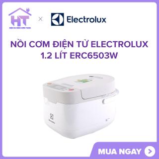 Nồi cơm điện tử Electrolux 1.2 lít ERC6503W trưng bày Lòng nồi hợp kim nhômchống dính 2 lớp thumbnail