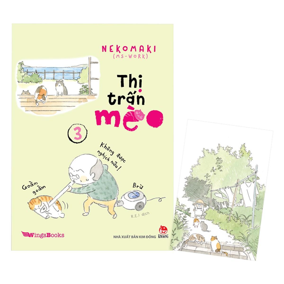 Mua Thị Trấn Mèo Tập 3 (Tặng Kèm Postcard)