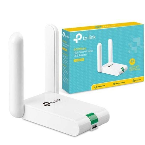 Giá USB thu wifi Wi-Fi TP-Link - TL-WN822N Chuẩn N 300Mbps 2 anten