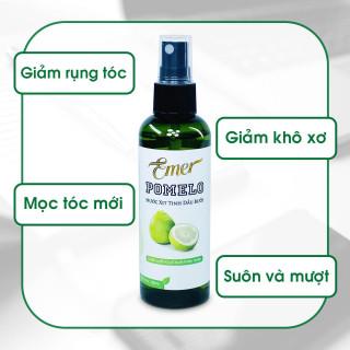Chai xịt tinh dầu bưởi dưỡng tóc pomelo 100ml giúp giảm rụng tóc, kích thích mọc tóc con cho tóc dày và dài hơn gấp 2 đến 3 lần thumbnail