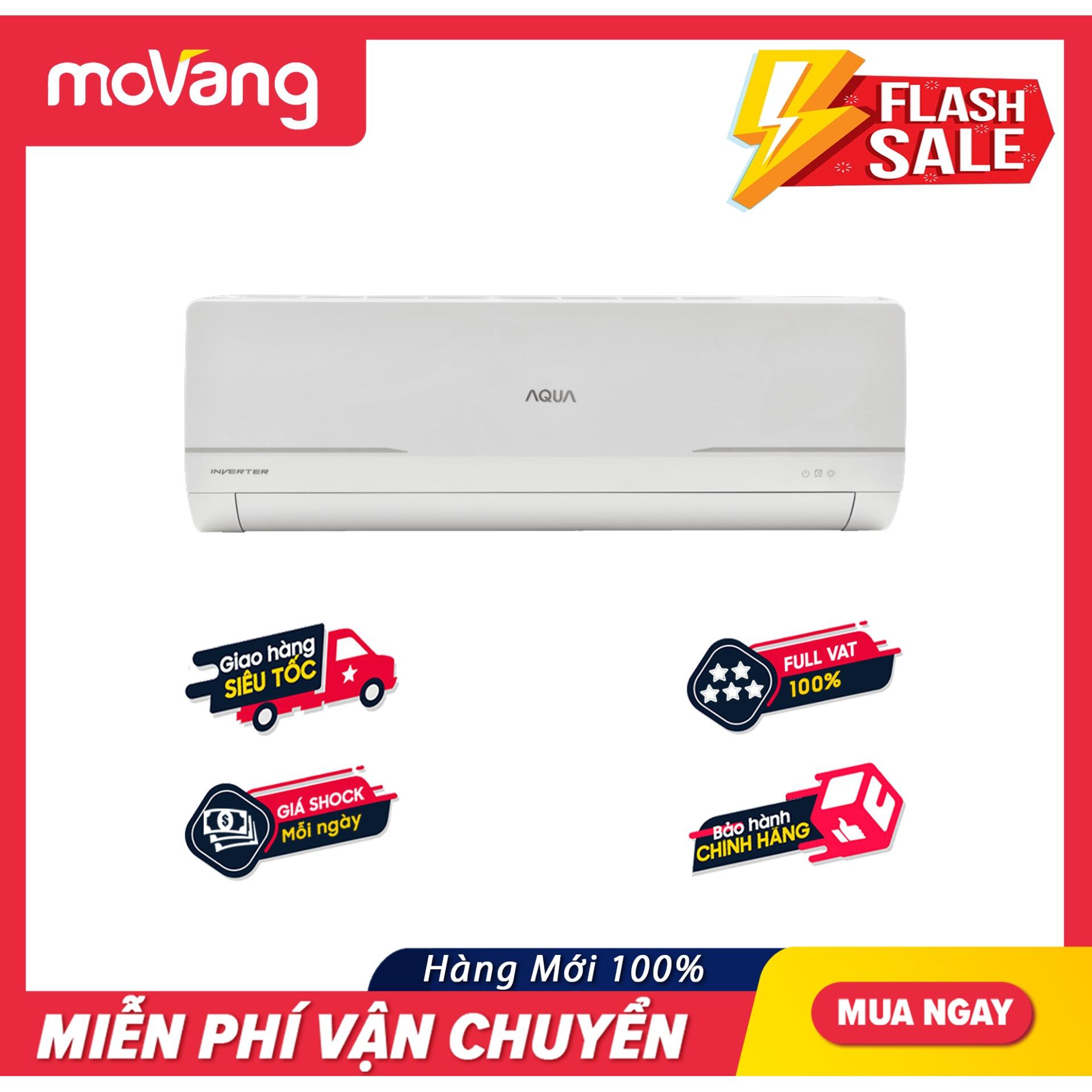 Bảng giá Máy lạnh Aqua inverter 2 HP AQA-KCRV18WNM - Công nghệ Inverter, Chức năng tự làm sạch AQUA FRESH