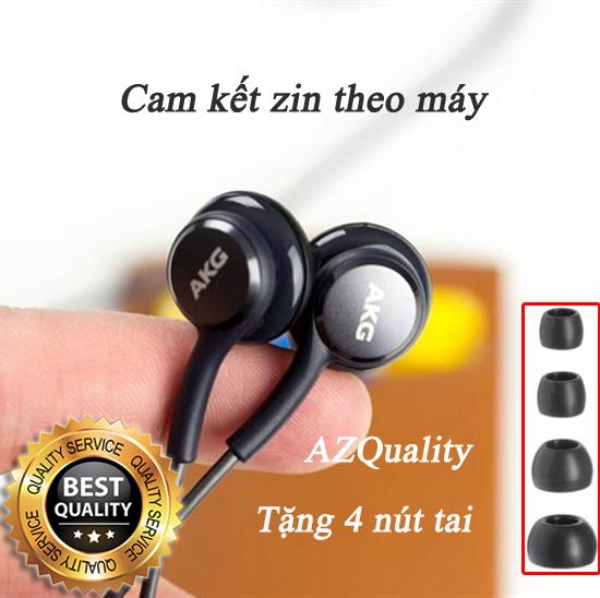 Tai nghe dùng cho Samsung Galaxy S10 S10 Plus S9 S8 Note 8 Note 9 AKG + Tặng 4 nút tai phụ