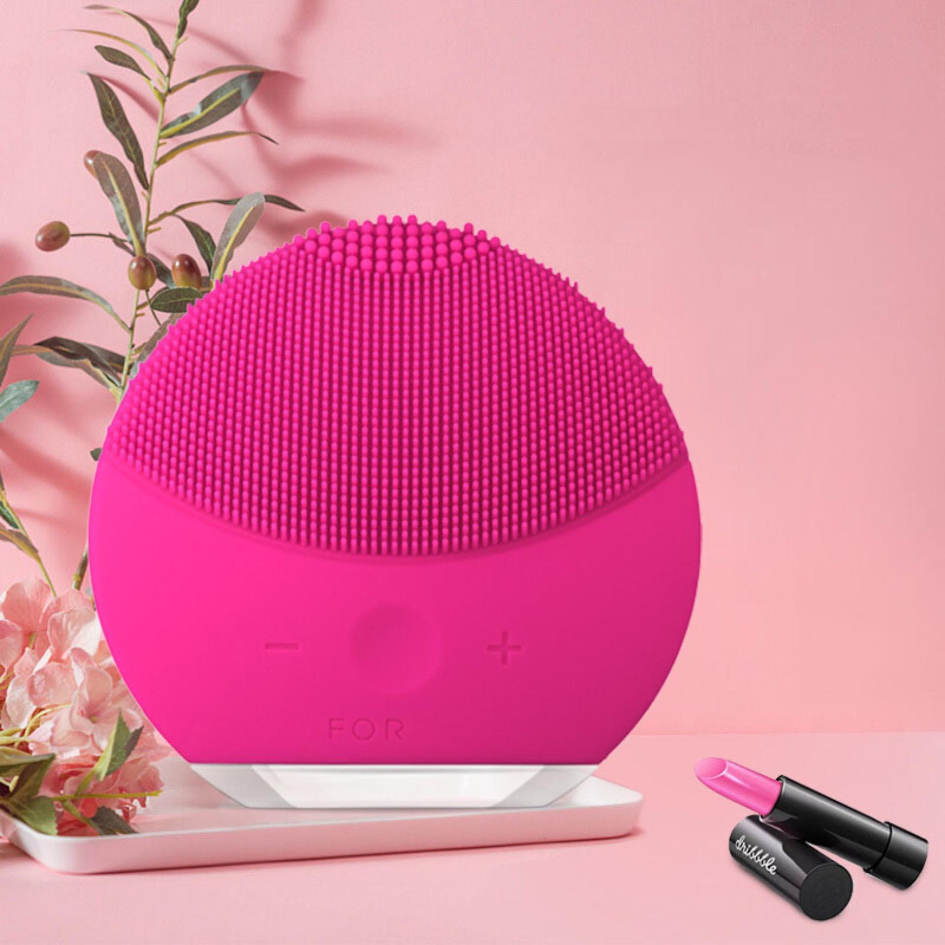 Máy Massage Rửa Mặt Thần Kỳ,  Máy Rửa Mặt Foreod-Lu&na Giá Rẻ , Máy Rửa Mặt Foreod-Lu&na Mini 2 Mini Silicon Mềm Mại Công Nghẹ Rung Dành Cho Da Nhạy Cảm – Làm Sạch Sâu Giúp Làn Da Mịn Màng Khỏe Mạnh Giảm Bã Nhờn Và Mụn.