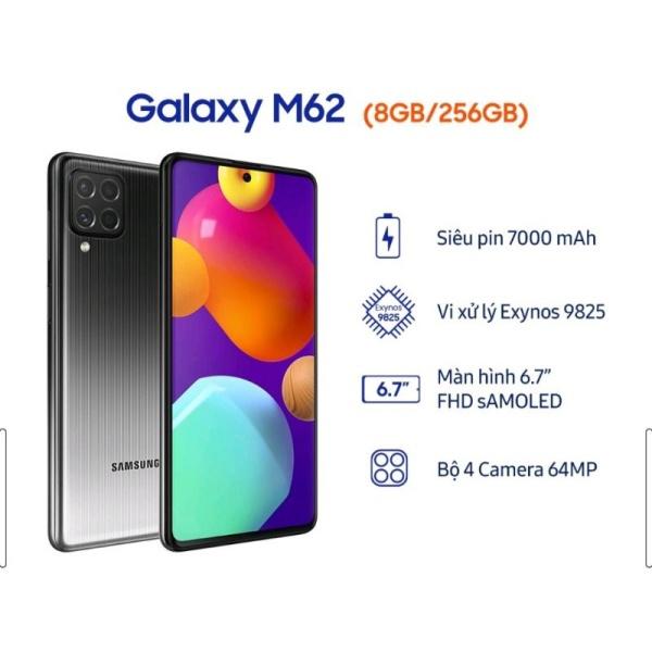 Điện thoại Samsung Galaxy M62 - Chính hãng.