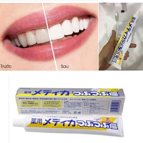 Kem đánh răng muối bảo vệ nướu Sunstar Nhật Bản (tuýp 170g) giá rẻ