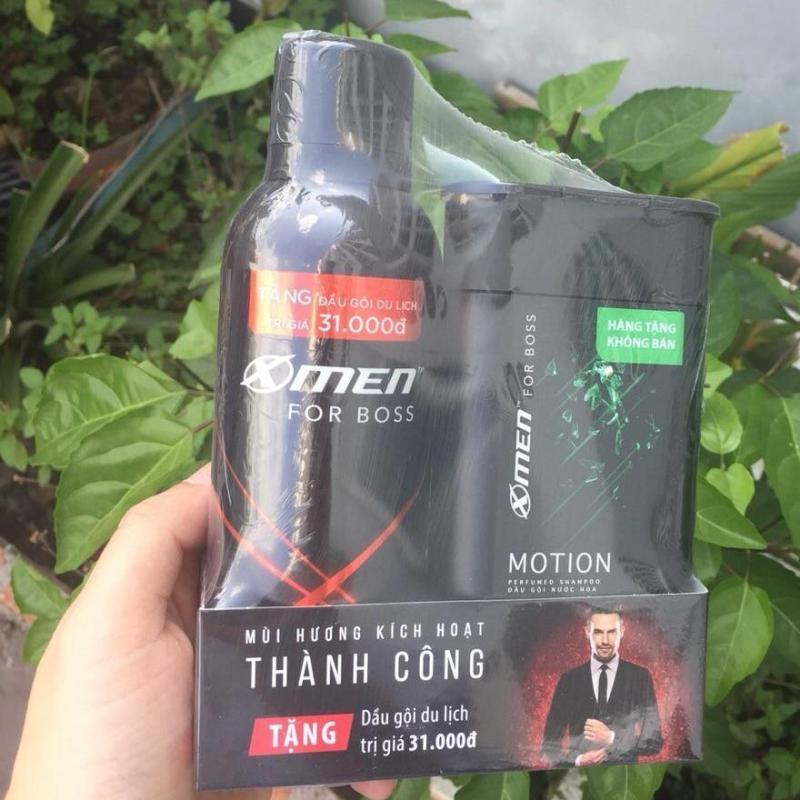 [QUÀ] Xịt khử mùi X-Men for Boss Intense 150ml + Tặng Dầu gội 85g mùi ngẫu nhiên tốt nhất