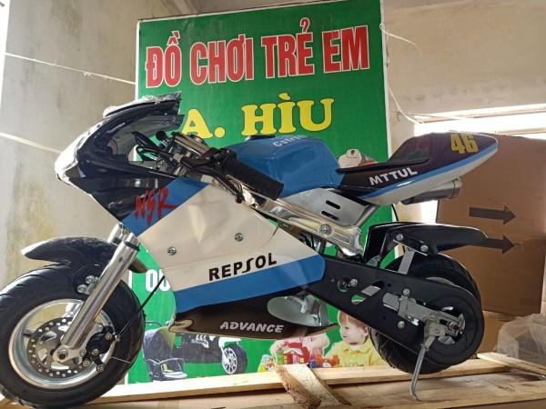 Mua Xe moto mini 50cc - xe ruồi - xe tam mao -bản có phuộc có đèn - mẫu mới 2 thì pô kiêu như xipo -tặng 1 chai nhớt - xe moto mini 50cc - xe moto - moto mini #  moto - xe máy 50cc  - xe cào cào mini 50cc