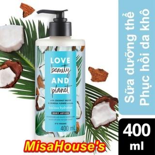 Sữa Dưỡng Thể Phục Hồi Da Khô Love Beauty And Planet Luscious Hydration 400ml thumbnail