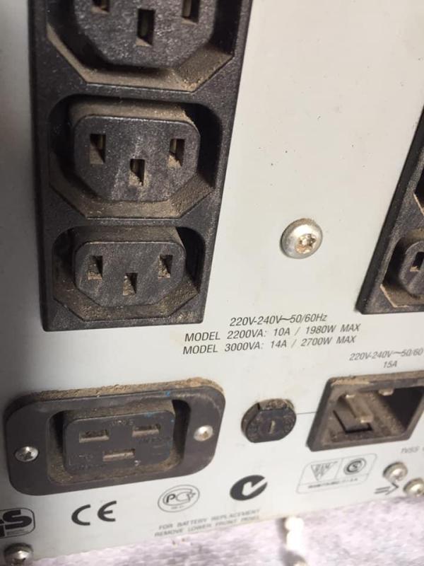 Bảng giá Bộ lưu điện UPS APC Smart 2000W Sin chuẩn  mô tơ cửa cuốn Phong Vũ