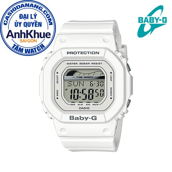 Đồng hồ nữ dây nhựa Casio Baby-G chính hãng Anh Khuê BLX-560-7DR (40mm)