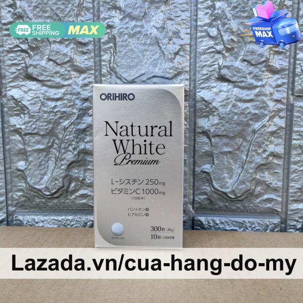 Viên uống hỗ trợ trắng da Natural White Premium Orihiro 300 viên của Nhật