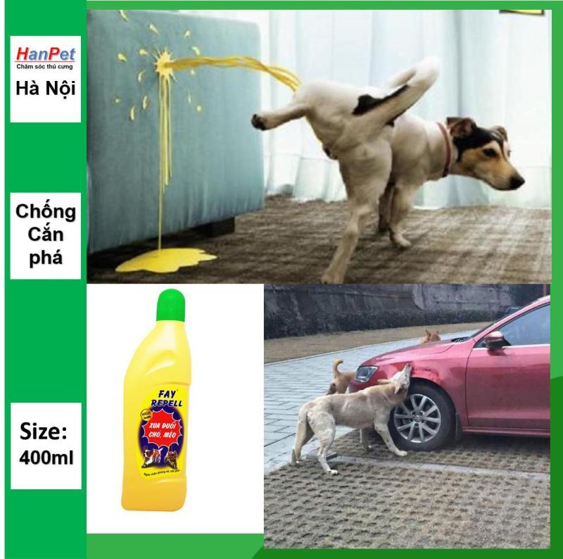 HN- Dung Dịch Xua Đuổi Chó Mèo Chống Cắn Phá FAY REPELL / Xịt ngăn chó mèo phóng uế bừa bãi/ xịt khử mùi hôi