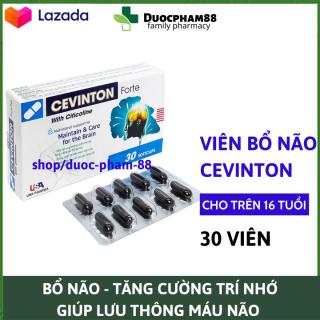 Viên uống bổ não Cevinton Fore hộp 30v, sáng mắt, khỏe mạnh tim mạch, tăng cường trí nhớ - đạt chuẩn GPP HSD 2023 , dược phẩm 88 thumbnail