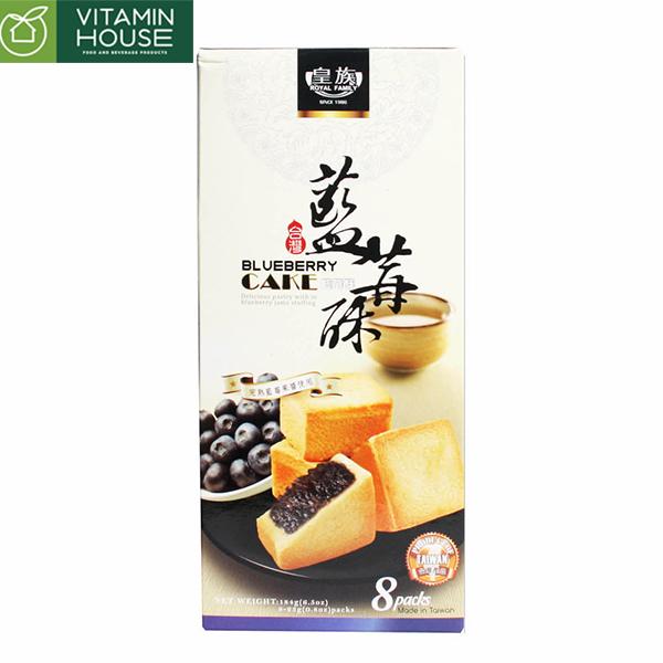 Bánh quy nhân mứt việt quất Đài Loan 184g