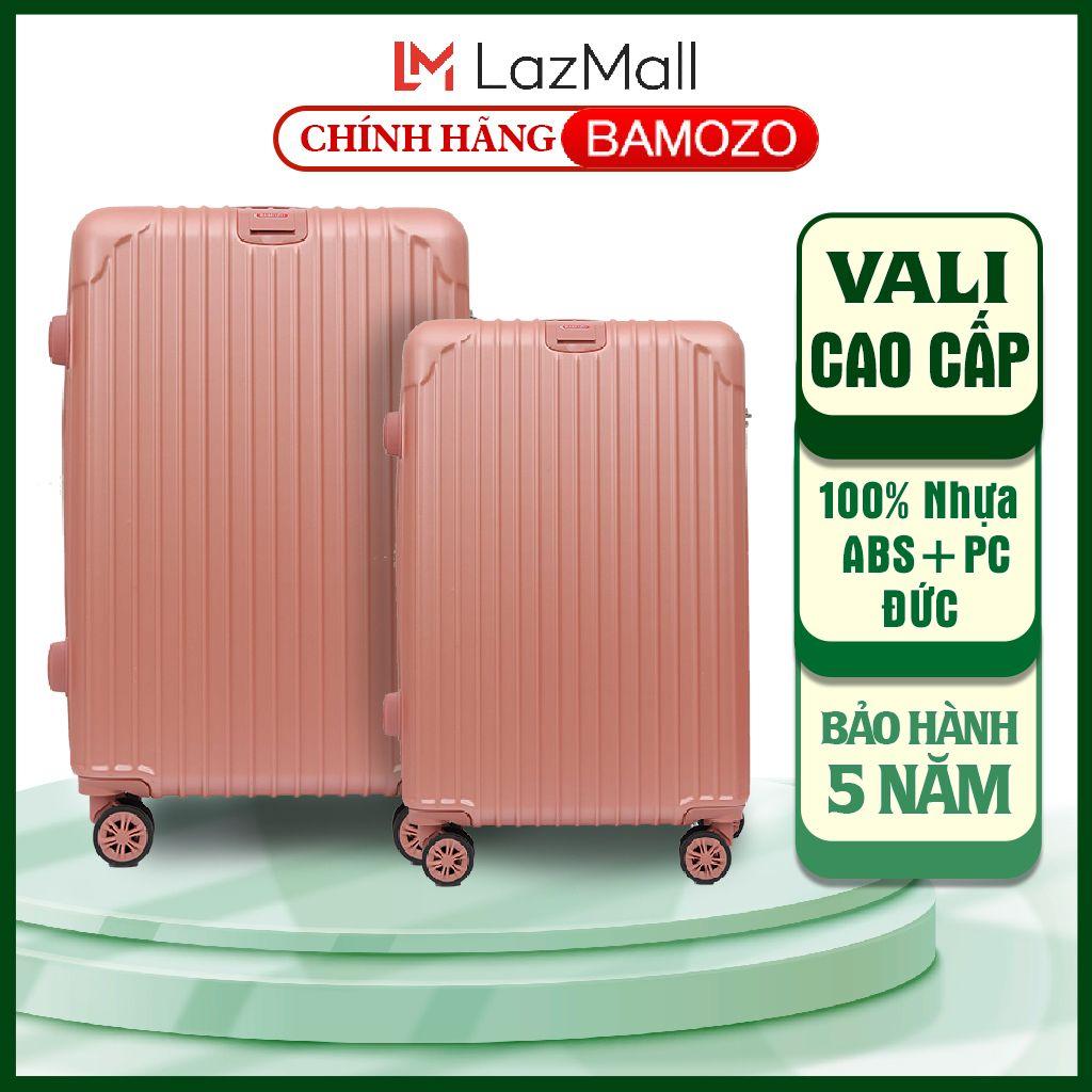 vali du lịch kéo hồng 20 inch 24 inch BAMOZO 8801 cao cấp