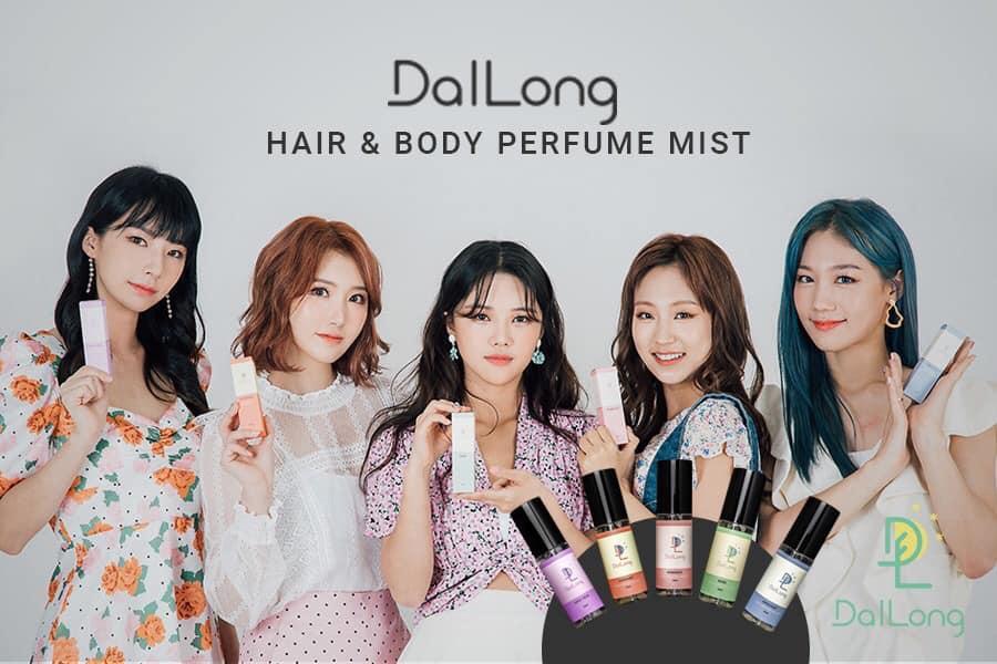 Xịt Thơm Toàn Thân DalLong Hair & Body Perfume Mít - 50ml