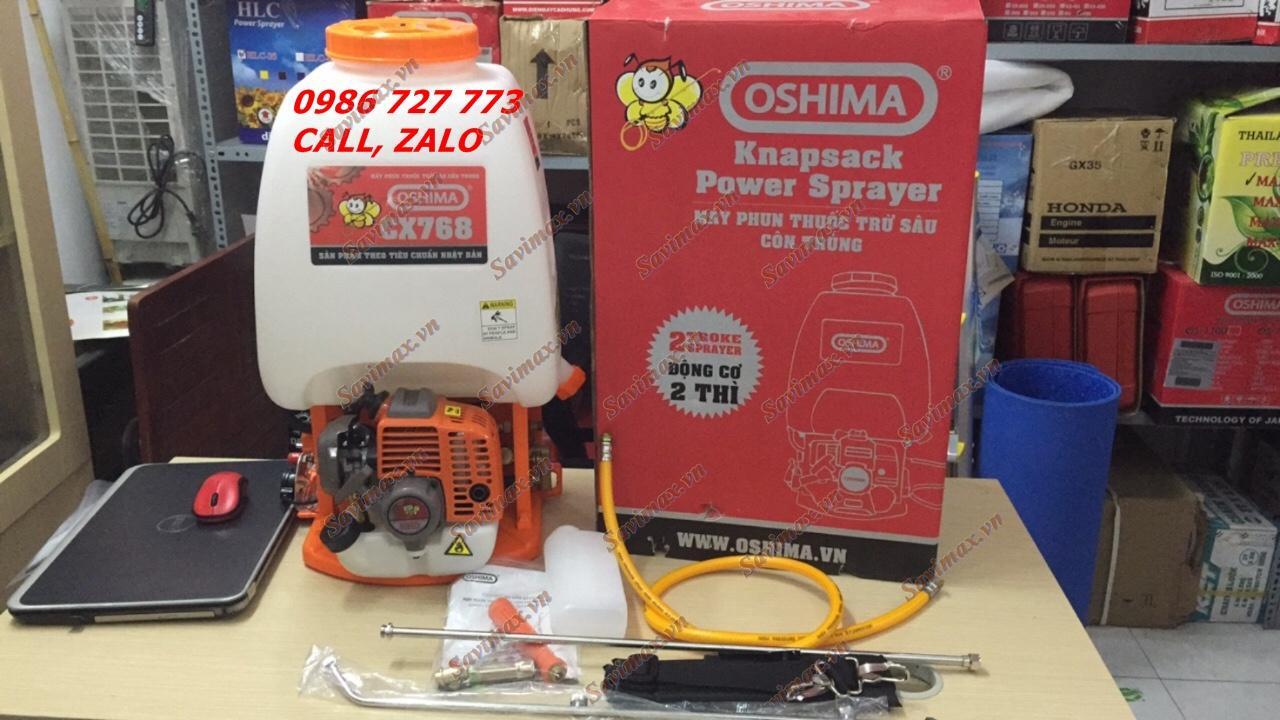 Bình xịt Oshima CX 768, máy phun thuốc trừ sâu oshima 25 lít