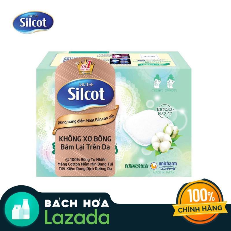 Bông trang điểm (bông tẩy trang) Silcot Premium Hộp 66 miếng