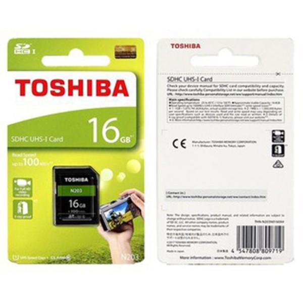 Thẻ nhớ Micro SDHC Toshiba 16GB