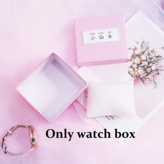 [Hot Sale] FAIRY PINK Watch Box Gift Box Decoration watch Bracelet Box Bracelet Couple Watch Box Birthday Gift 3