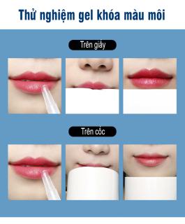 Gel khóa màu son BIQUANTANG giúp son bền màu không trôi không lem gel giữ màu môi không trôi son gel khóa môi nội địa Trung thumbnail