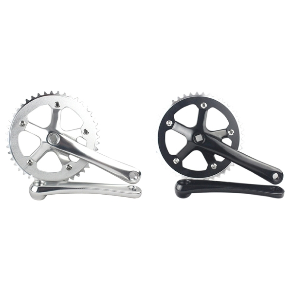 Mua Forged Alloy Crank Arm Length 170mm for MTB & Road Bicycles Folding Crankset Bike Parts BCD130mm-Black