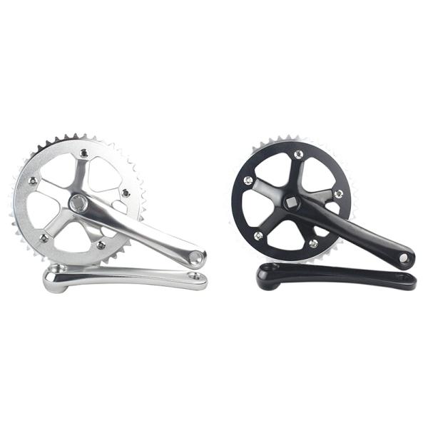 Phân phối Forged Alloy Crank Arm Length 170mm for MTB & Road Bicycles Folding Crankset Bike Parts BCD130mm-Black