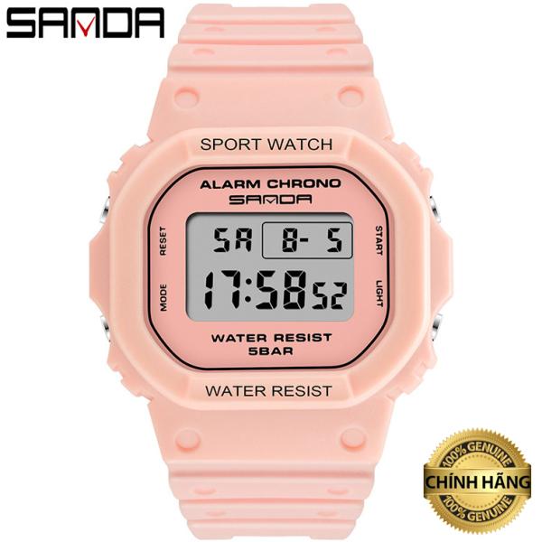 Nơi bán Đồng hồ Nữ thể thao SANDA ESA, Thương hiệu Cao Cấp Của Nhật, Chống Nước Tốt - Đồng hồ nữ giá rẻ, Đẹp,Sang trọng,Đẳng cấp, Bền, Giá Sốc, Đồng hồ nữ hàn quốc, Đồng hồ nữ thời trang, Đồng hồ nữ đẹp, Đồng hồ n